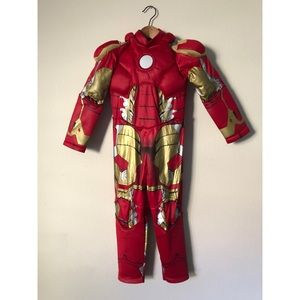 Disney store Iron man kids costume